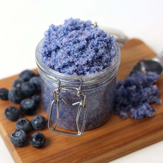 Blueberry Jam Sugar Scrub Kit