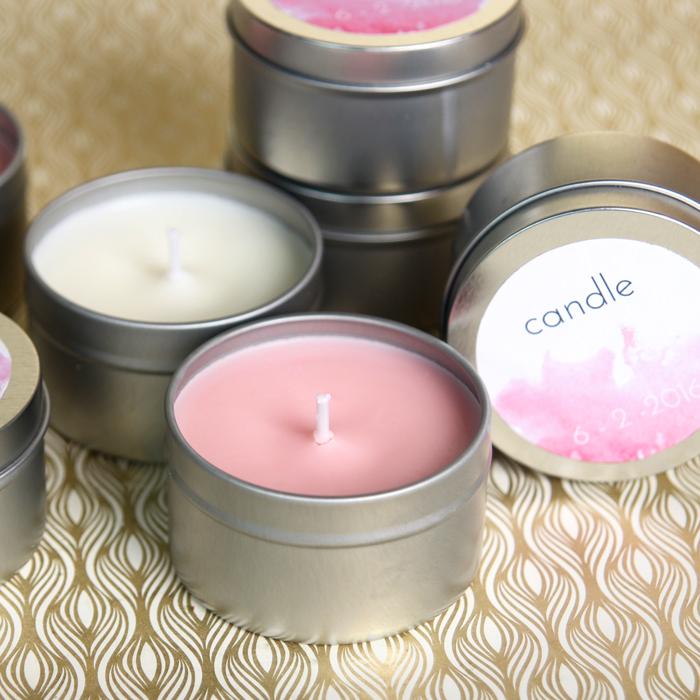 Wedding Favor Candles Kit
